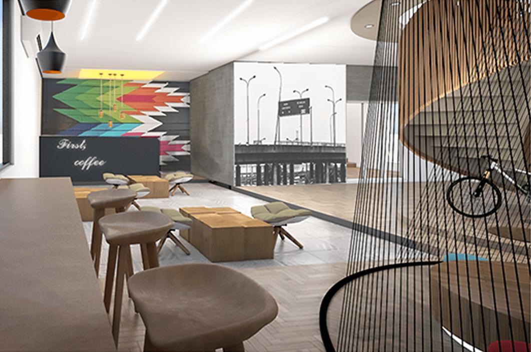 Decor Nigeria office Design V.I 3D  2